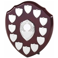 20cm Perpetual Wood Shield With 12 Plates