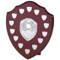 30cm Perpetual Wood Shield With 14 Plates