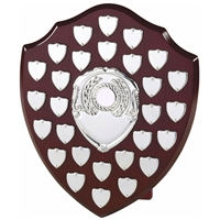 30cm Perpetual Wood Shield With 28 Plates
