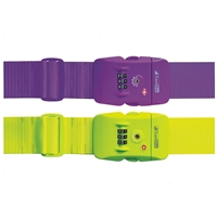 Travel Blue Neon TSA Approved Combination Strap 2 x 80 Inch