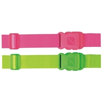 Travel Plus Neon Luggage Strap 1.5 x 80 Inch
