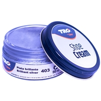 TRG Shoe Cream Dumpi Jar 50ml Shade 403 Brilliant Silver