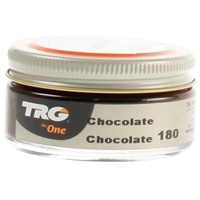 TRG Self Shine Renovating Shoe Cream 180 Chocolate