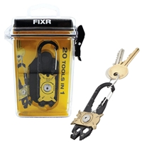 True Utility FIXR 20 In 1 Tool In Weatherproof Hard Case