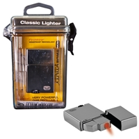 True Utility Classic Lighter In Weatherproof Hard Case