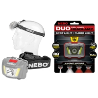 Single Nebo Duo Headlamp Grey
