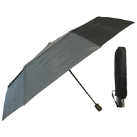 X-Strong Mini Golf Umbrella Auto With Double Canopy, Black