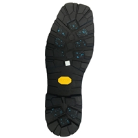 Vibram 007AG Yellow Arctic Grip Sole Unit, Size 41/42