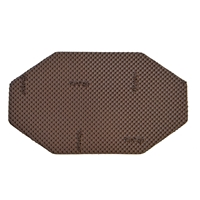 Vibram 8568 Air Diamante Sheet 4mm Brown (Tobacco). Sheet Size 105 x 58cm
