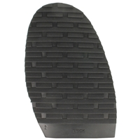 Brick Design Stick On Soles 3.0mm Size 2 Ladies Black