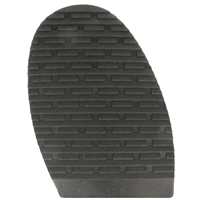 Brick Design Stick On Soles 4.0mm Size 4 Gents Black