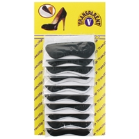 Translip Heel Grips - Black (Card Of 20)