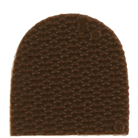 Vibram Dupla 6mm Toppieces Cappucino Size 1 1/4 Inch