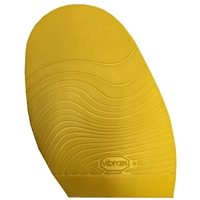 Vibram Leisure Stick on Soles 2.0mm Ladies Yellow