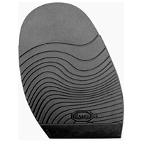 Vibram Leisure Stick on Soles 2.0mm Gents Black