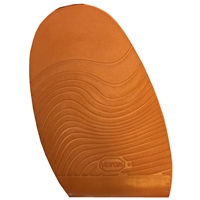 Vibram Leisure Stick on Soles 2.0mm Gents Extra Large Orange