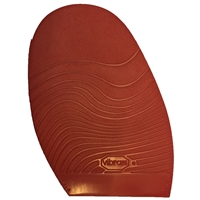 Vibram Leisure Stick on Soles 2.0mm Gents Extra Large Red