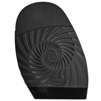 Vibram Sebastian Half Soles - 3.5mm Gents Black
