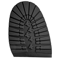 Vibram Mortara Walkabout Soles - 5mm Universal Black