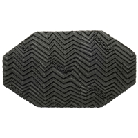 Vibram Lisk Soling 4.0mm Sheet Tyre Tread, Black, 91x58cm
