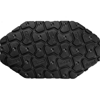 Vibram 8327 Woodstock Sheet 8mm Black
