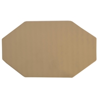 Vibram 8304 Morflex D. Card Plain Sheet, 4mm Cream