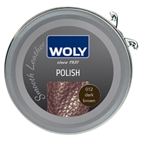 Woly Shoe Polish 50ml Dark Brown