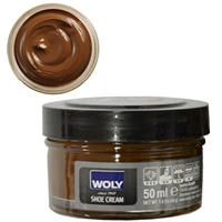 Woly Shoe Cream Jar 50ml Bison 040