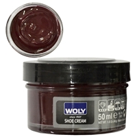 Woly Shoe Cream Jar 50ml Bordeaux 021