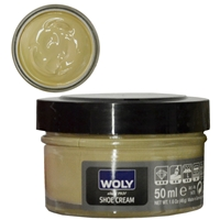Woly Shoe Cream Jar 50ml Bisquit 294