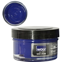 Woly Shoe Cream Jar 50ml Cobalt Blue 046