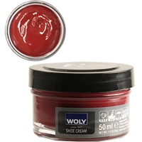 Woly Shoe Cream Jar 50ml Campari Dark Cherry 144