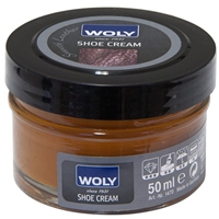Woly Shoe Cream Jar 50ml Caramel