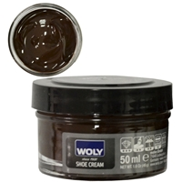 Woly Shoe Cream New Jar 50ml Dark Brown 012/032