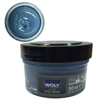 Woly Shoe Cream Jar 50ml Denim 116