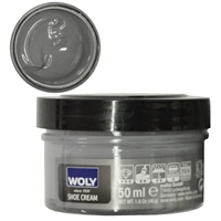 Woly Shoe Cream New Jar 50ml Grey 025/008