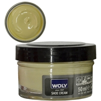 Woly Shoe Cream Jar 50ml Light Beige 135