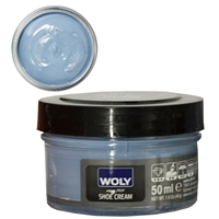 Woly Shoe Cream Jar 50ml Light Blue 301