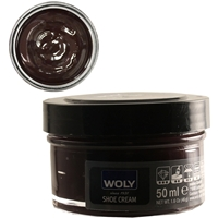 Woly Shoe Cream New Jar 50ml Mahogany 143/035