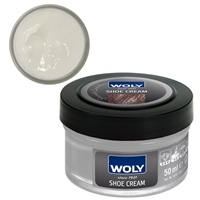 Woly Shoe Cream New Jar 50ml Neutral 019/001