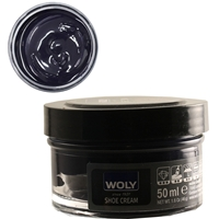 Woly Shoe Cream Jar 50ml Dark Blue = Navy Blue