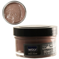 Woly Shoe Cream Jar 50ml Purple Grey 358