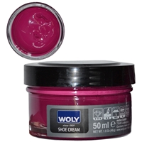 Woly Shoe Cream Jar 50ml Ruby Rubin 333