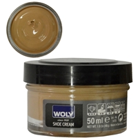 Woly Shoe Cream Jar 50ml Sand 030