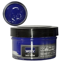 Woly Shoe Cream Jar 50ml Ultramarine 353