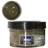 Woly Shoe Cream Jar 50ml Vison 097