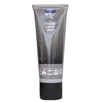Woly Smooth Fashion Leather Cream 75ml Tube - Dark Grey