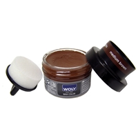 Woly Shoe Cream Plus 50ml Med Brown