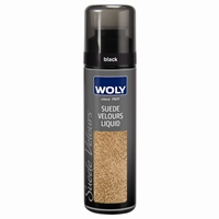 Woly Suede & Nubuck Liquid Renovator Black 75ml