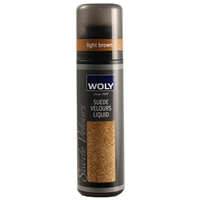Woly Suede Velours Liquid Renovator Light Brown 75ml